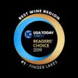Finger Lakes best wine region 2019 logo