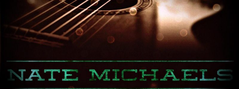 Nate Michaels logo with guitar