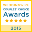 Wedding Wire Couples' Choice Awards 2015 Badge
